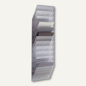 """Wand-Prospekthalter-Set """"FLEXIBOXX 12"""", DIN A4 quer, transparent, 1709781400"""