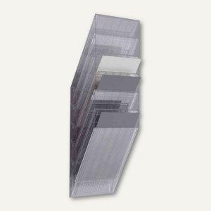 """Durable Wand-Prospekthalter-Set """"FLEXIBOXX 6"""", DIN A4 hoch, transp., 1709760400"""