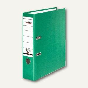 Falken Recycolor Ordner, DIN A4, Rücken 80 mm, grün, 11285723