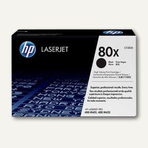 HP Toner 80X, ca. 6.900 Seiten, schwarz, CF280X