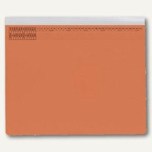 officio Kanzleihängehefter mit Tasche, Rechtsheftung, orange, 25 Stück, KF15787