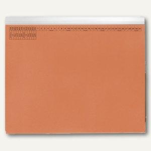 officio Kanzleihängehefter mit Tasche, Linksheftung, orange, 25 Stück, KF15780