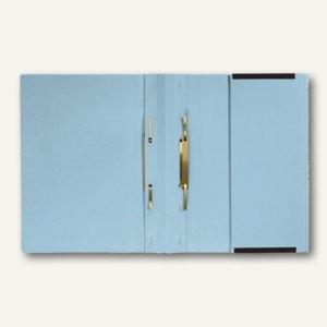 officio Kanzleihängehefter mit Tasche, 2 Abheftungen, hellblau, 25 Stück,KF15797