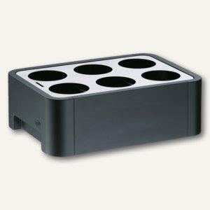 Alfi Konferenzkühler CUBE, für 6 Flaschen, 0.25 - 0.5 l, schwarz, 1077 020 050