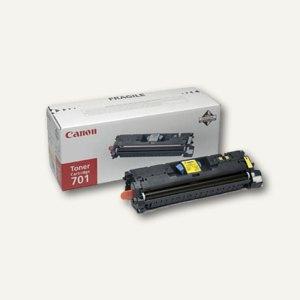 """Canon Tonerkartusche """"701Y"""", ca. 4.000 Seiten, gelb, 9284A003"""