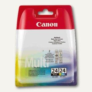 Canon Tintentank BCI-24 bk + c, Multipack, 6881A051