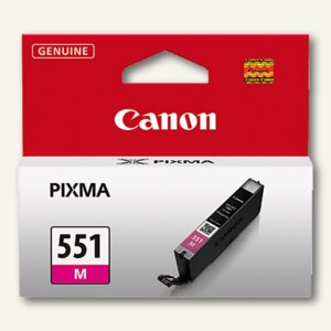 Canon Tintenpatrone CLI-551M, magenta, 7 ml, 6510B001
