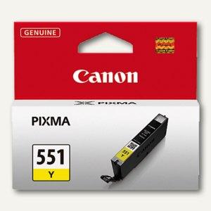 Canon Tintenpatrone CLI-551Y, gelb, 7 ml, 6511B001