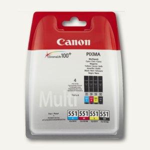 Canon Tintenpatronen Multipack CLI-551, cmybk, 6509B008