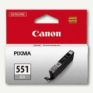 Canon Tintenpatrone CLI-551GY, grau, 7 ml, 6512B001