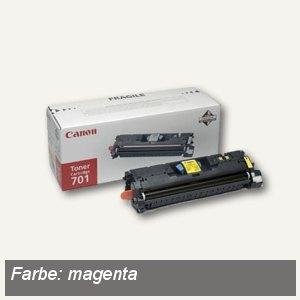 "Canon Tonerkartusche ""701M"", ca. 4.000 Seiten, magenta, 9285A003"