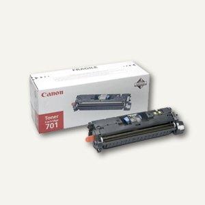 """Canon Tonerkartusche """"701bk"""", ca. 5.000 Seiten, schwarz, 9287A003"""
