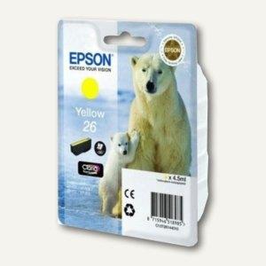 Epson Tintenpatrone Nr. 26, gelb, C13T26144010