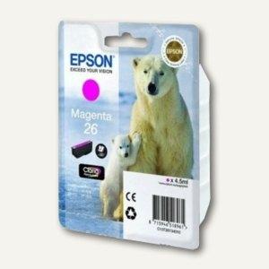 Epson Tintenpatrone Nr. 26, magenta, C13T26134010