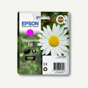 Epson Tintenpatrone T1803, Nr.18, magenta, C13T18034010