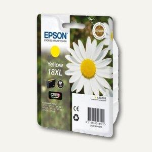 Epson Tintenpatrone T1814, Nr.18XL, gelb, C13T18144010