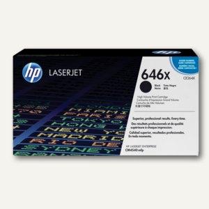HP Tonerkartusche 646X, ca. 17.000 Seiten, schwarz, CE264X