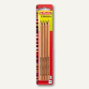 Herlitz Bleistift Skizzo natur, Härtegrad: HB, Mine: 2.2 mm, 8670556