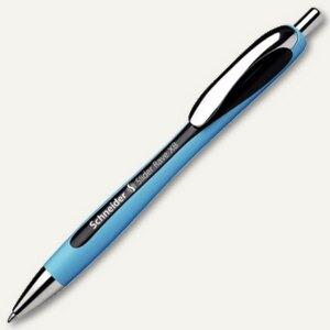 Schneider Kugelschreiber Slider Rave,Strichst.: XB,dokumentenecht,schwarz,132501