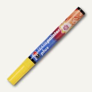 Marabu Textil Painter plus, für helle + dunkle Stoffe, bis 40°C, gelb, 011803019