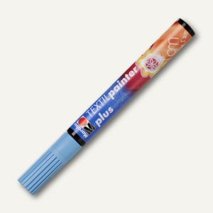 Textil Painter plus, für helle + dunkle Stoffe, bis 40°C, hellblau, 011803090