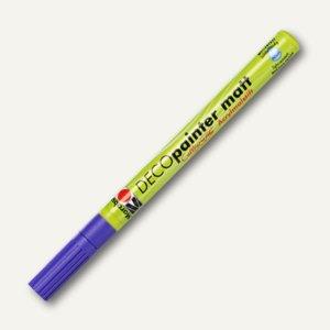 Marabu Acrylmalstift Deco Painter, lichtecht, wetterfest, amethyst, 012235081