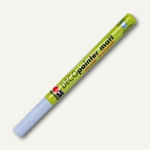 Marabu Acrylmalstift Deco Painter, lichtecht, wetterfest, pastellblau, 012235256