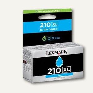 Lexmark Return-Druckkopfpatrone Nr.210XL, cyan, 14L0175E