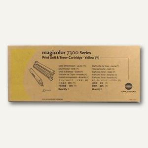 Konica Minolta Toner, gelb, 31.500 Seiten, A3VU250