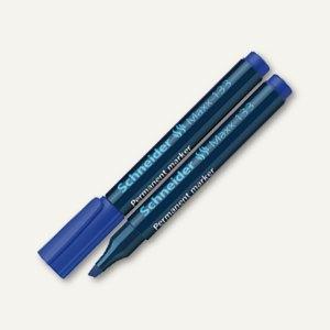 Schneider Permanent-Marker Maxx 133, Keilspitze 1-5 mm, blau, 113303