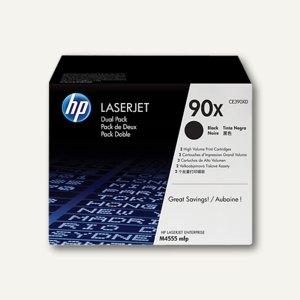 HP Tonerkartuschen Doppelpack 90XD, 2 x ca. 24.000 Seiten, CE390XD