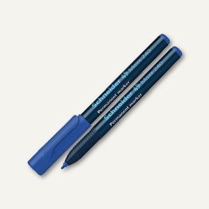 Schneider Permanent-Marker Maxx 240, Strichst.: 1-2 mm, Rundspitze, blau, 124003