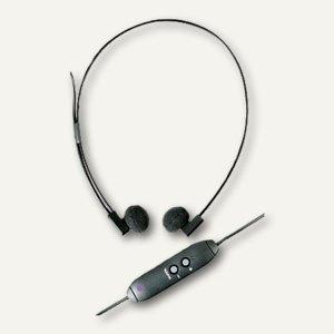 WMC USB-Kopfhörer de Luxe mit Lautstärkeregelung, 24610