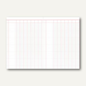 RNK Spaltenbuch DIN A4, 7 Spalten, 30 Blatt, 3407