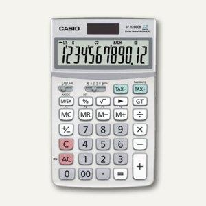 Casio Tischrechner, 12-stellig, Solar- & Batteriebetrieb, JF-120ECO