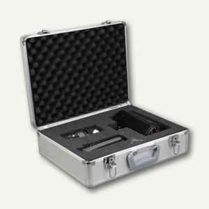 Alumaxx Alu-Multifunktionskoffer STRATOS V, Schaumstoffeinlage, silber, 45139