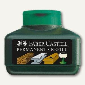 Faber-Castell Permanentmarker Grip, Refill PERMANENT 1505, 30 ml, grün, 150563
