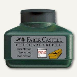Faber-Castell Flipchartmarker Grip - Refill 1536, 30 ml, schwarz, 153899
