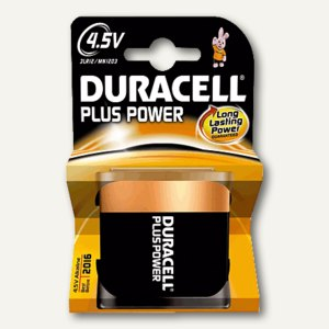 Duracell Batterien DUR Plus Power, Typ 4.5 V, DUR019317