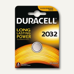 Duracell Lithium Knopfzelle ELECTRONICS, CR2032, DUR033917