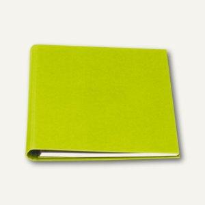 Einladungsbuch 230x220, 80 Seiten, limette m. Struktur, 2er Pack, 1876451326