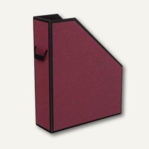 Rössler Stehsammler mit Kordelgriff, burgundy-schwarz, 2er Pack, 1318454402