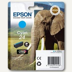 Epson Tintenpatrone Nr. 24, cyan, C13T24224010