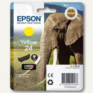 Epson Tintenpatrone Nr. 24, gelb, C13T24244010