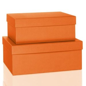 S.O.H.O. Aufbewahrungs-/Geschenkbox, div. Größen, sunrise, 2er Set, 1349452210
