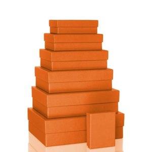 S.O.H.O. Aufbewahrungs-/Geschenkbox, div. Größen, sunrise, 7er Set, 1341452210
