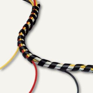 Dataflex Spiral-Kabelmanager, Ø9-30mm/25m, schwarz, 2 Stück, 33.253