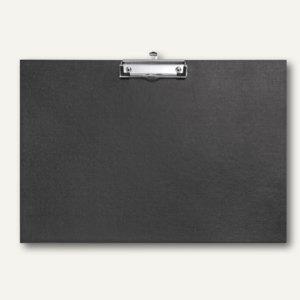 Veloflex Schreibplatten A3 Querformat, Klammer mit Öse, schwarz, 5 St., 4812980