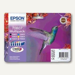 Epson Tintenpatronen Multipack 6-farbig, C13T08074011