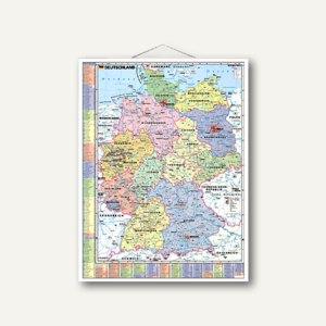 Artikelbild: Deutschlandkarte politisch mit Register